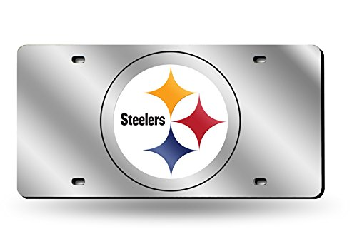 - Rico Industries Pittsburgh Steelers Laser License Plate
