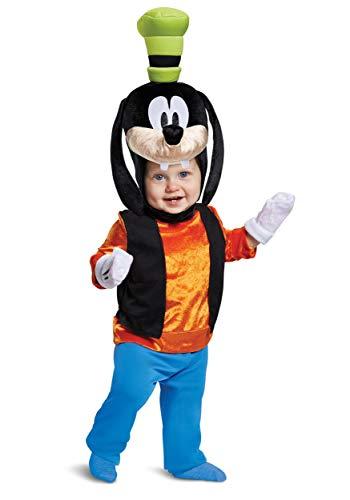 Disguise Baby Boys Goofy Classic Infant Costume, Orange 12-18m -