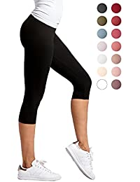 Premium Ultra Soft Capri Leggings - High Waist - Regular...