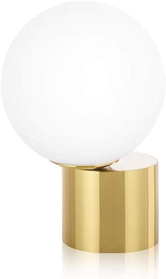 Lámpara De Mesa Nórdica Posmoderna Minimalista Diseñador Bola De ...