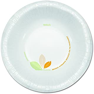 product image for Dart OFHW12J7234 Bare Paper Eco-Forward Dinnerware, 12oz Bowl, Green/Tan (Case of 500)