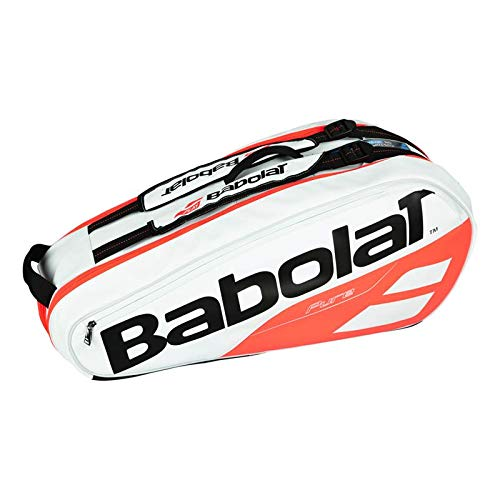 Babolat - Pure 6 Pack Tennis Bag White and Red - (B751172-149) ()