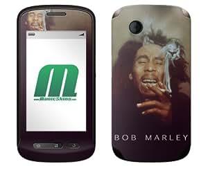 MusicSkins: Bob Marley Smoke pegatina de protección skin para ZTE Libra