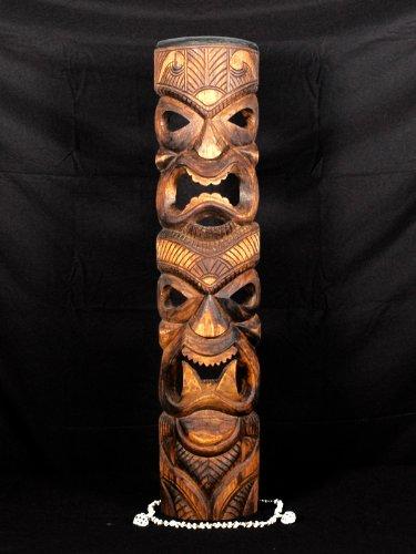 Love/Prosperity Tiki Mask 40'' - Antique Finish | #skn16007100