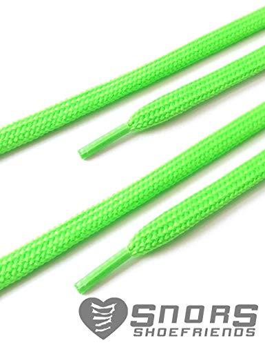Colorate Scarpe Ca Piatti 8mm Per Neon Lacci Stringhe Snors 7 6