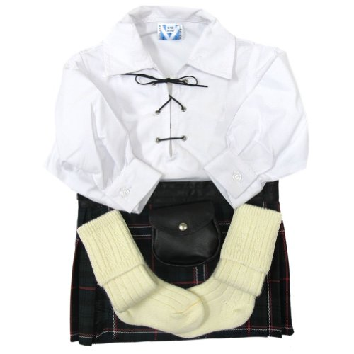 Trewscot Babies' Scottish National Kilt Outfit Age 0-6 -