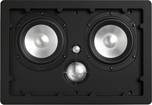 NHT iW4-ARC 3-Way In-Wall Home Theater Speaker with Aluminum Driver, 150 Watts (Matte White, Single) by NHT Audio