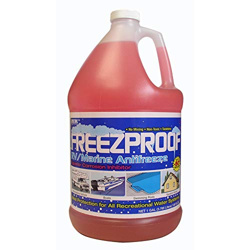 Zecol Antifreeze 1 Gallon -50°F Burst Protection Non-Toxic