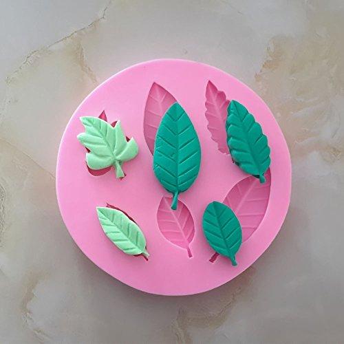 Patr/ón de Hojas de Arce Molde de Silicona para reposter/ía Gosear Molde de Hornada Pastel Fondant de Bricolaje//Molde la Torta de Chocolate Decoraci/ón
