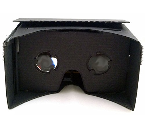 EightOnes VR Kit V1.1 - The Complete Google Cardboard Kit with NFC (WITHOUT Head-strap) (Jet Black)