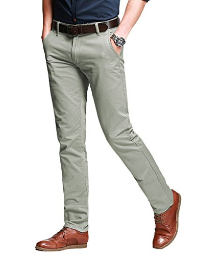 match-mens-slim-fit-tapered-stretchy-casual-pants-38w-x-31l-8050-pea-green