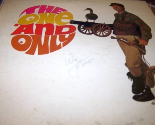 Signed: The One and Only Mr Sound Effects, Wes Harrison [Autographed LP] by CSM