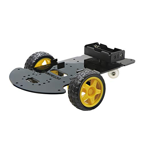 UCTRONICS Robot Car Chassis Kit - DIY Robot Platform for Hobby Robotics Project with Arduino, Raspberry Pi, and More