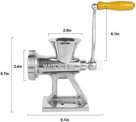 Tritacarne Tritacarne Manuale In Lega Di Alluminio Tritacarne Salsiccia Tenuto In Mano Gadget Tritacarne Cucina Domestica Utensili Da Cucina Robot Da Cucina