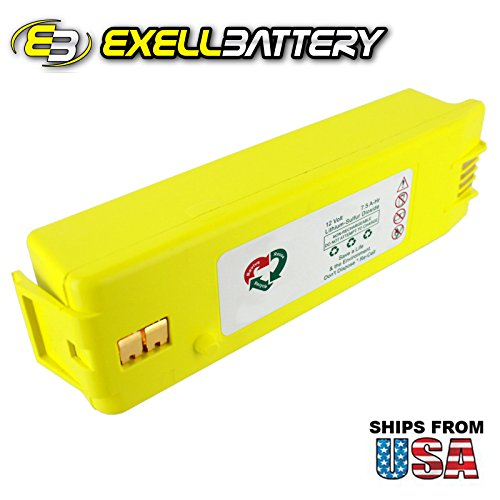 Exell 12V 7.5 A-Hr AED Medical Battery For Cardiac Science & Powerheart G3 AEDs by Exell Battery
