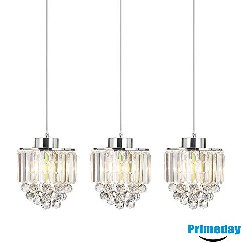 3 Light Crystal Pendant in US - 8