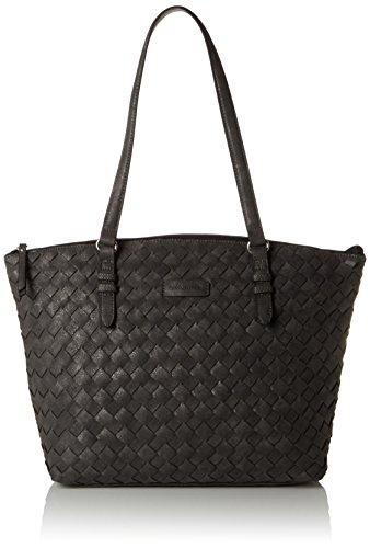 GERRY WEBER Reason - Shopper Mujer Gris - Grau (dark grey 802)