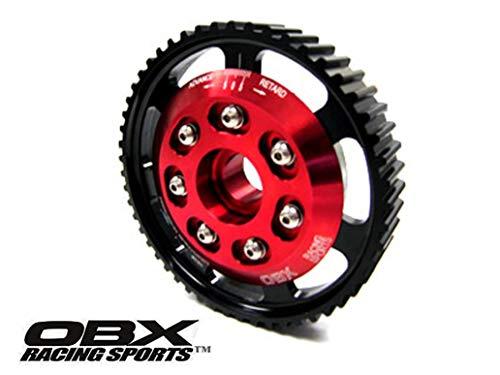 (OBX Red Adjustable Cam Gear Sprocket 99-05 VW Beetle Golf IV Jetta 2.0L 8V MKIV)