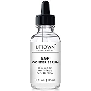 Uptown Cosmeceuticals Acne Scar Removal & Anti Wrinkle Wonder Serum, Helps Reduce the Appearance of Scars, Wrinkles, Burns, and Dark Spots Visibly, 30ml