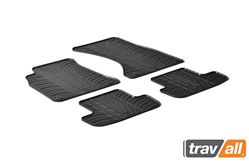 Floor Audi Custom Mats Cabriolet (Travall Mats for AUDI A5 Coupé (2007-2016) Also for Audi A5 Cabriolet (2009-2013), S5 Coupé (2008-Current) and more TRM1117 - All-Weather Rubber Floor Liners)