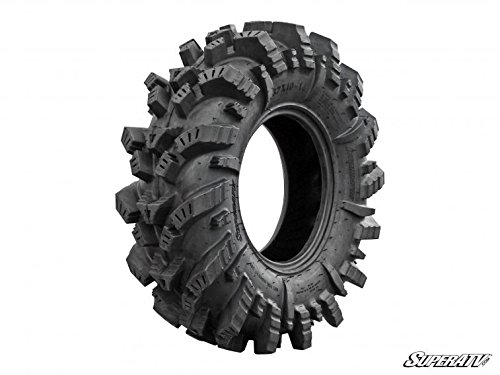 SuperATV Intimidator All-Terrain Tire - RZR, X3, General, Maverick, Ranger, Rock & All Terrain UTV - 28x10-14 (Intimidator Atv Tires)