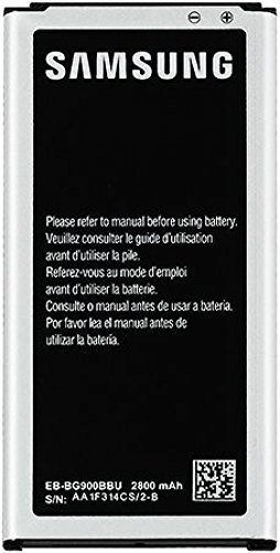 Samsung Galaxy S5 Battery EB-BG900BBU/BC/BZ , 2800mAh POWER (Bulk Packaging)