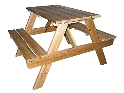 ORE International Kidsu0027 Indoor/Outdoor Picnic Table