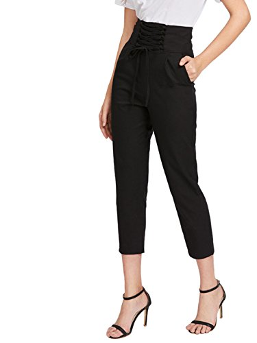 Fit Cropped Trousers - 3
