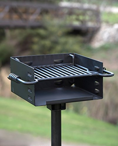 heavy duty park style charcoal grill buy online in ksa products in saudi arabia see prices. Black Bedroom Furniture Sets. Home Design Ideas