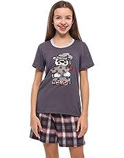 Merry Style Mädchen Jugend Schlafanzug MS10-241