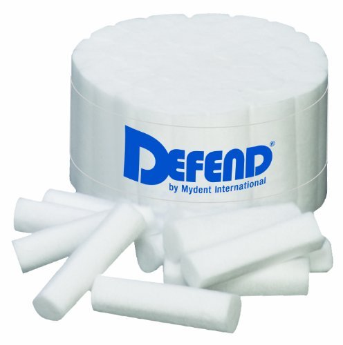 2000 Defend Disposable Dental Cotton Rolls non-sterile soft pliable non-linting by DEFEND