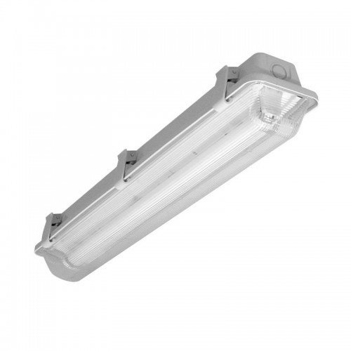 Prilux 236041 - PANTALLA ESTANCA TUBO LED 1X600mm PCPC 1 EXTREMO: Amazon.es: Iluminación