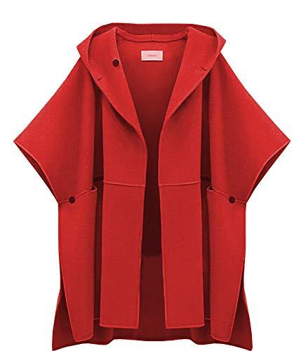 Femme Femme Red Popoye Popoye Manteau Popoye Red Manteau vYqpCd5q