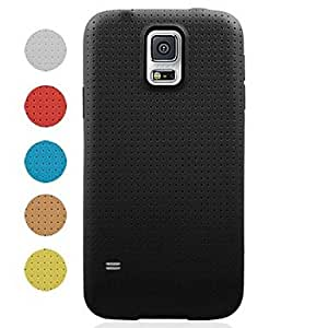 Mini - Website Dot Pattern Full Body Case for Samsung Galaxy S5 I9600 ,Color: Red