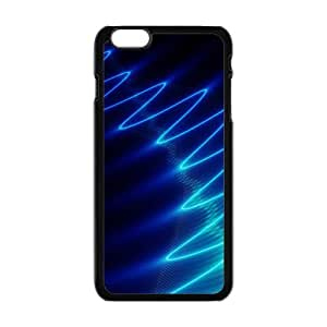 Bright Blue Wave Hot Seller Stylish Hard Case Cover For SamSung Galaxy S4 Mini