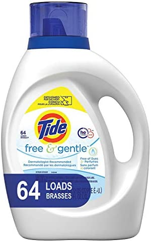 picture of Tide Free and Gentle HE Laundry Detergent Liquid, 64 Loads