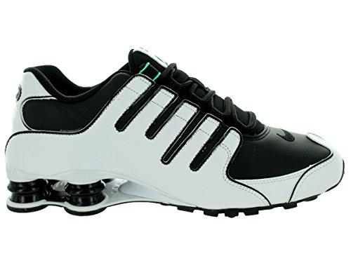 Nike Herren Shox NZ EU Laufschuhe Weiß / Weiß / Schwarz / Menta