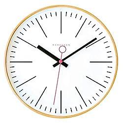 Marksson Collins Clock (White/Pink)