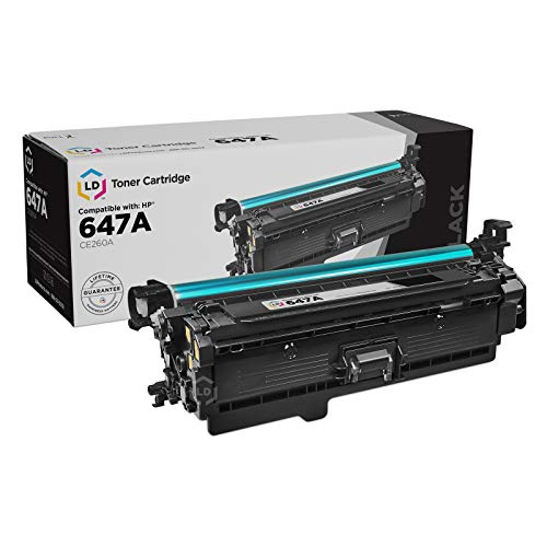 LD Remanufactured Toner Cartridge Replacement for HP 647A CE260A (Black)