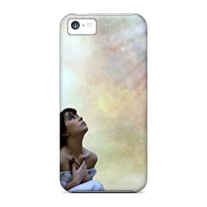 LauraGroff-Y Iphone 5c Hybrid Tpu Case Cover Silicon Bumper Missing You