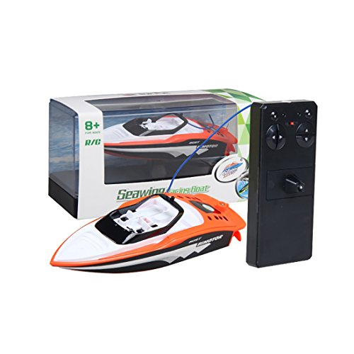 YIFAN Remote Control Boat, Kids Adults Mini High-Speed Series SpeedBoat for Pool and Lakes Outdoor Use, (High Speed Series)