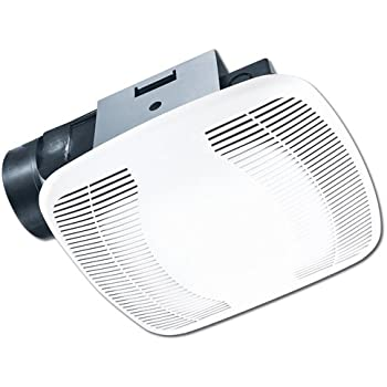 Broan 678 ventilation fan and light combination 50 cfm and 2 5 sones built in household for Air king bathroom fan light combo