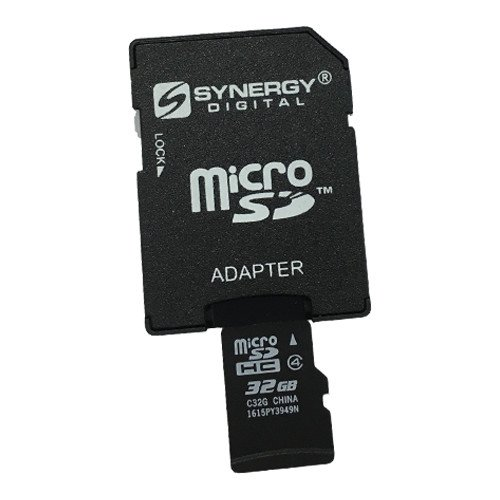 Synergy Digital 32GB microSDHC Memory Card Compatible For LG G STYLO Cell Phone Memory Card - 32GB microSDHC Memory Card with SD Adapter