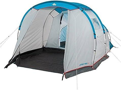 Decathlon - Tienda de campaña Arpenaz Camping Family, Hombre, ARPENAZ FAMILY 4.1 Blue: Amazon.es: Deportes y aire libre