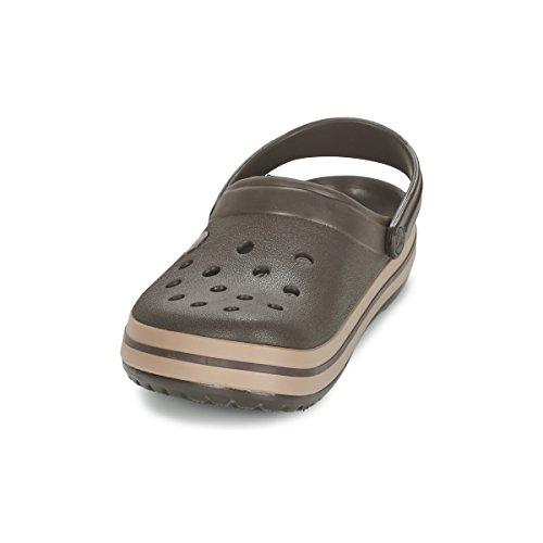 Adulte Mixte Crocs Sabots Kaki Band Clog Beige q1xOwzIT