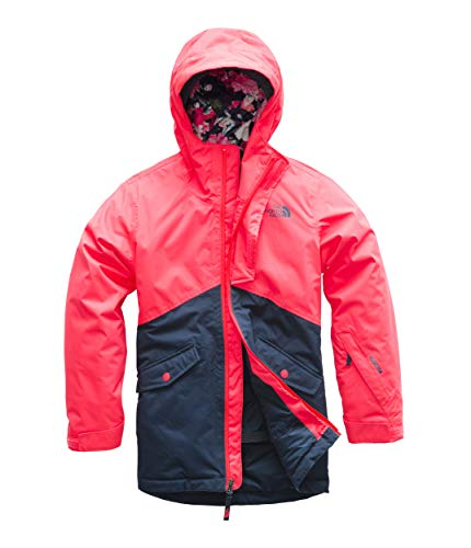 The North Face Kids Girl's Freedom Insulated Jacket (Little Kids/Big Kids) Rocket Red Medium