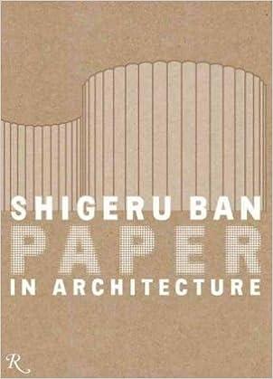 c4666b8229716 Shigeru Ban  Paper in Architecture  Paper Architecture  Amazon.de  Riichi  Miyake