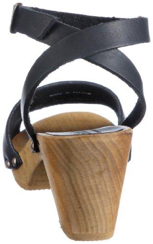 Sandal Nero Wood Black Sandali Donna Flex 457357 Yara 2 2 Sanita 7tq48T4