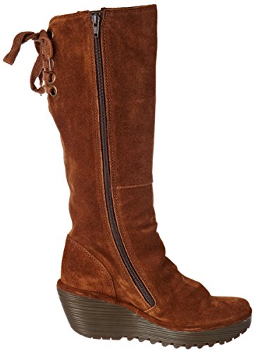 Fly Marron Bottes Camel Yust London Femme Rr7fxRT