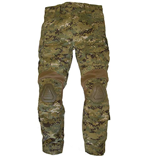 Type Army Digital Camo - Trendy Apparel Shop Kid's US Soldier Digital Camouflage Tactical Overwatch Combat Pants - Type III - L